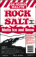 Halite Rock Salt Ice Melt