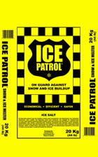 Ice Patrol® Rock Salt Ice Melt